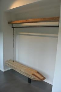 Garderobe aus Treibholz