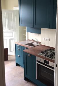 kleine Altbau Küche